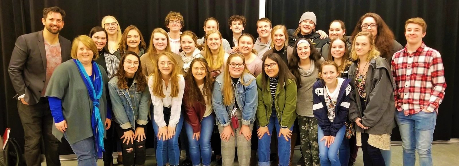 PMEF endowment funds student trip to see Broadway show