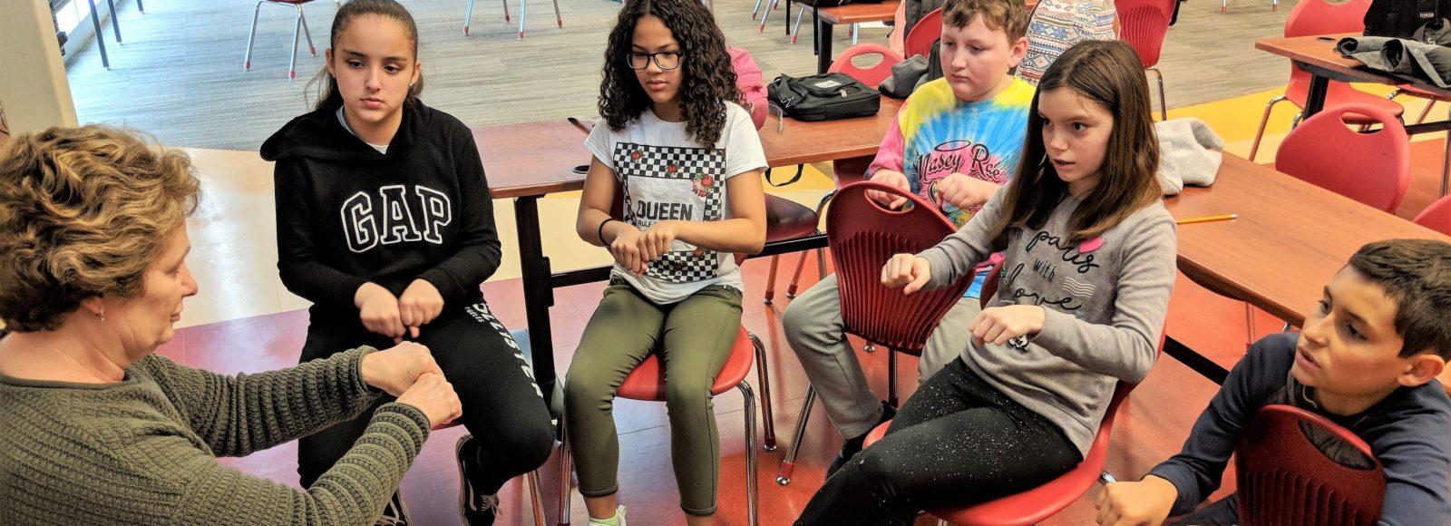 PMEF grant helps Hambright Elementary establish Sign Language Club
