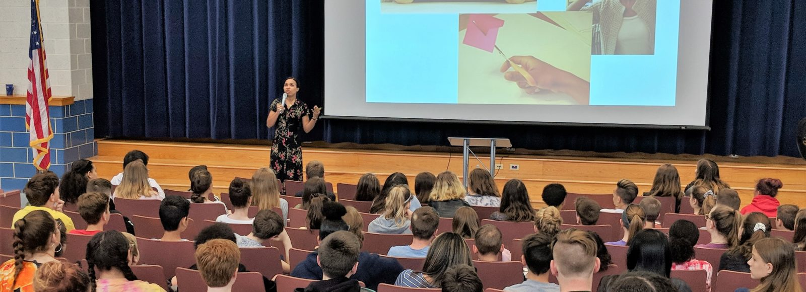 Book illustrator and author shares expertise with Manor and Marticville students