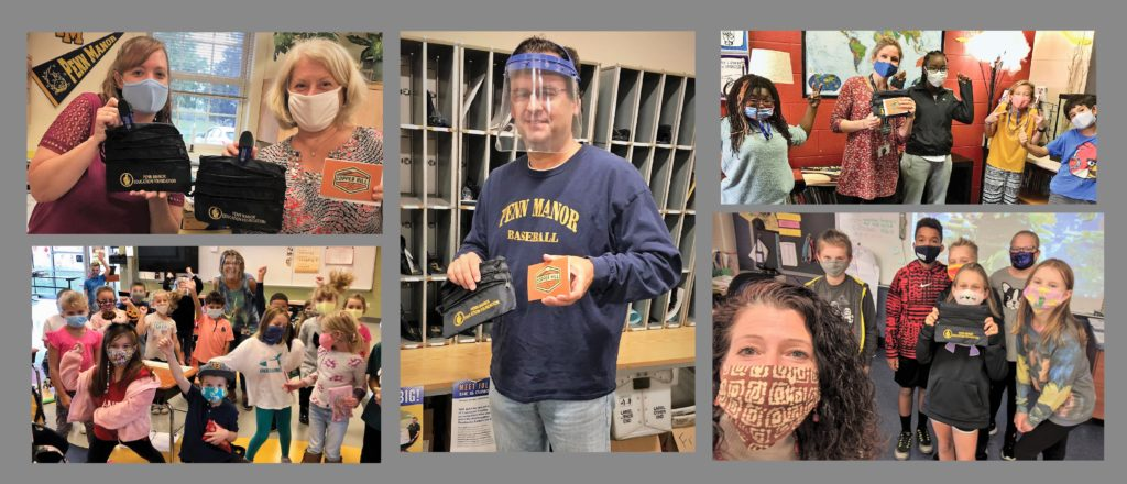 Collage of employees and students